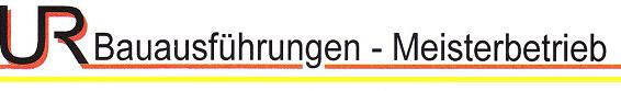 UR-Bauausführungen Logo